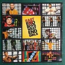 """West End Girls East 17 7"""" Disco de vinilo de imagen única UK lonp 344 London 1993"""