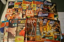 AFL-VFL - Bulk Lot of 16 - Footy Records and Football Records - Various Years