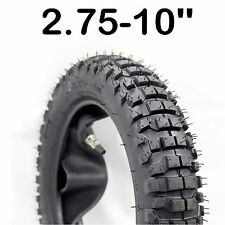 "2.75-10 10"" TYRE TIRE For Yamaha PW 50 TTR 50 110 125 Dirt Pit Trail Mini BIKE"