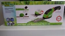 Florabest Akku Gras- und Strauchschere Gartenschere Pflanzenschere Schere