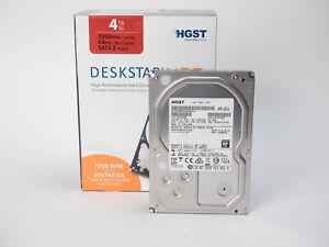 HGST Deskstar NAS HDD 4TB 7200 RPM 64 Mb SATA 3 HDN724040ALE640