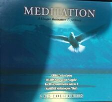 MEDITATION: A Unique Relaxation Experience 2 CD Set Grieg Delibes Bach Massenet