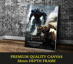Transformers The Last Knight Movie Art Large CANVAS Print Gift A0 A1 A2 A3 A4