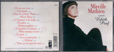 CD MIREIILLE MATHIEU CANTA EDITH PIAF RTI MUSIC 11402 ITALY 1997
