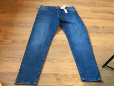 Ladies Marks And Spencer denim jeans mid rise super skinny size 18 Reg BNWT