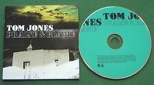 Tom Jones Praise & Blame inc Lord Help & If I Give My Soul + CD