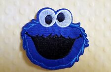 Cute Cookie Monster Sesame Street  Embroidered Iron on patch / Applique / Badge