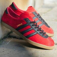 Adidas London Originals Red Black City Series Retro Size 12 UK