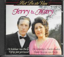 JERRY & MARY SERVAES - Het Beste van CD Album 16TR Holland 1989 (TELSTAR) RARE!