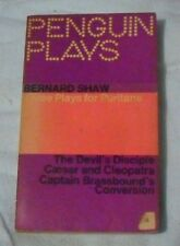 Bernard Shaw - Three Plays for Puritans 1963 LOCAL FREEPOST ch sc 0814