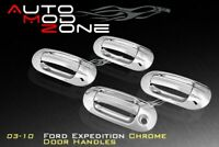 97-04 Ford Expedition Chrome 4 Door Handle Cover Covers w// PSG Keyhole