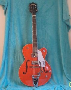 2008 Gretsch G5120 Orange Electromatic125th anniversary Electric guitar VGC