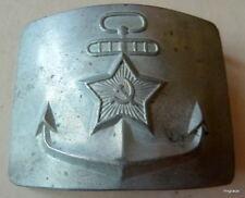 RUSSIAN SOVIET army belt buckle - marines