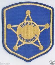 ANDY GRIFFITH MAYBERRY DEPUTY BLUE PATCH  - MAY08