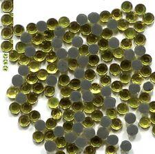 Rhinestones 2mm 6ss CITRINE  Hot Fix  144 Pc 1 gross