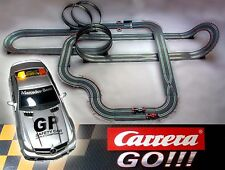 Carrera GO 11,5m Auto Rennbahn Komplettset Starterset Ferrari Mercedes Formel 1