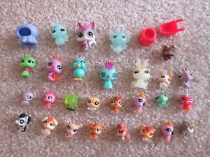 Littlest Pet Shop Lot Teeniest Tiniest 30 figures pieces