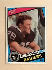 1984 Topps Howie Long Rookie Card #111 - ** MINT! WOW!! MUST SEE!!! **