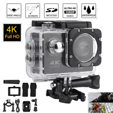 Action Camera 4K HD Camcorder Video Waterproof DV Sports Cam 2.0