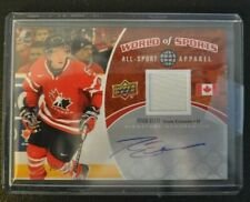 2010 UD World of Sports autograph memorabilia Ryan Ellis #'d 25/25 Team Canada