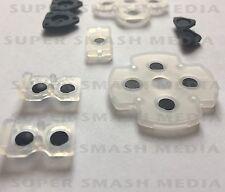 PS4 PASTIGLIE Conduttivo Gomma Controller-garantito per il lavoro-Alta Qualità
