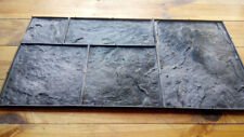"""Polyurethane stamp for concrete """"Slate N2"""" (for 5 stones) for floor and walkways"""