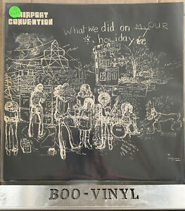 Fairport Convention ~ What We Did On Our Holidays (Island ILPS 9092) Vinyl EX