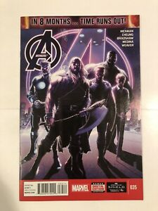 Avengers #35 (2014). 1st Cover Sam Wilson Captain America! Falcon Winter Soldier