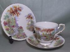 Vintage Paragon Bone China Trio The Old Mill Stream Tea Cup Saucer & Side Plate