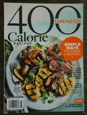Cooking Light Special Edition Magazine 400 Calorie Recipes 2019 NEW Cookbook