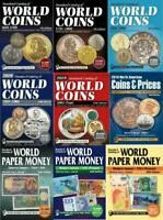 2019 KRAUSE 9 Catalogs of World Coins & Paper Money 1601-2018 DigiBooks