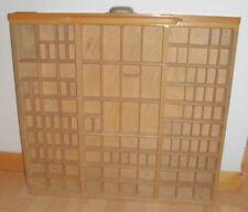 Antike Buchdrucker & -binder-Setzkästen