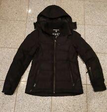 Damen Jacke Mantel schwarz von Technology Gr. S / 38 mit Kapuze