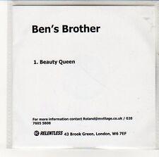 (EN282) Ben's Brother, Carry On - DJ CD