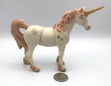 Papo Glitter WHITE UNICORN PINK MANE Fantasy Figure 2010  Fantasy Horse