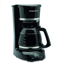 Coffee Maker 12 Cup Digital Hamilton Beach Home Or Office With Filters & Coffee
