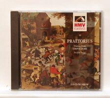 DAVID MUNROW - PRAETORIUS dances from terpsichore EMI CD NM