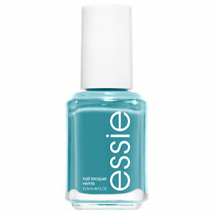 essie nail polish garden variety teal blue nail polish 0.46 fl oz
