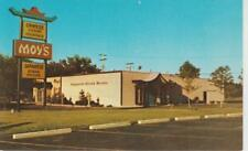 Moy's Restaurant Japanese Steak House Livonia MI circa 1960 Photo Postcard