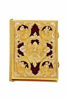Orthodox Gold & Silver Plated Velvet Gospel
