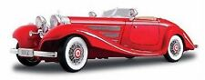 Maisto 1:18 Mercedes Benz 500K Type Specialroadst Red Diecast Model Car Toy