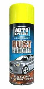 6 x Auto Extreme Rust Proofer Car Spray Aerosol Kills Prevents Protects 400ml