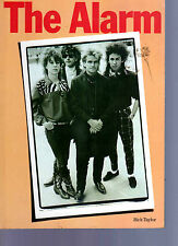 THE ALARM - RICK TAYLOR - 50 PAGES - SOFT COVER BOOK - INDIE - PUNK