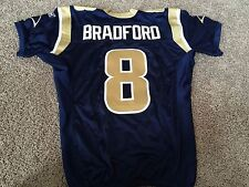 Sam Bradford 2011 Game Worn/Used St Louis Rams Jersey Photo Matched !!