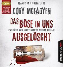 CODY MCFADYEN - DAS BÖSE IN UNS.AUSGELÖSCHT 2 MP3 CD NEU