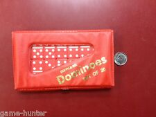 Baby Double Six Dominoes - Red