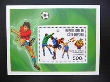 Sheet Ivorian Stamps