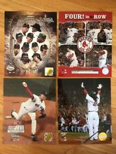 BOSTON RED SOX Lot Of 4, 2004 & 2007 Photos