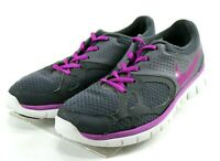 Nike Flex 2012 RN Women's $100 Running Shoes Size 9 Gray Purple