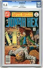 Jonah Hex   #1   CGC    9.4   NM   white pages